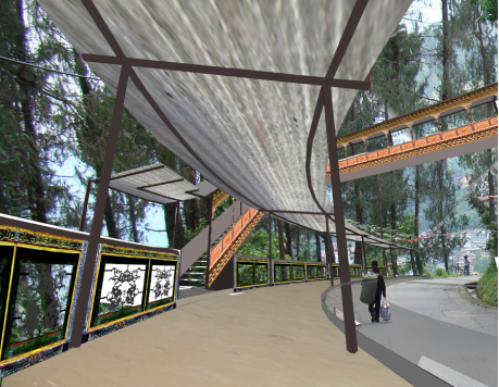 The new Namnang walkway (pic taken from internet) as we did not stop here.
